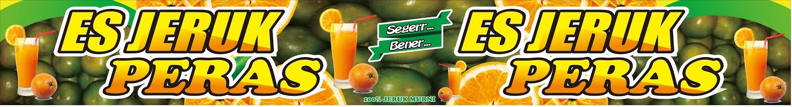 Beryl Repro Contoh Spanduk Es Jeruk Peras