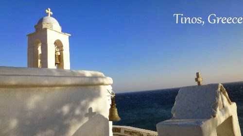 Tinos island, A Mum in London