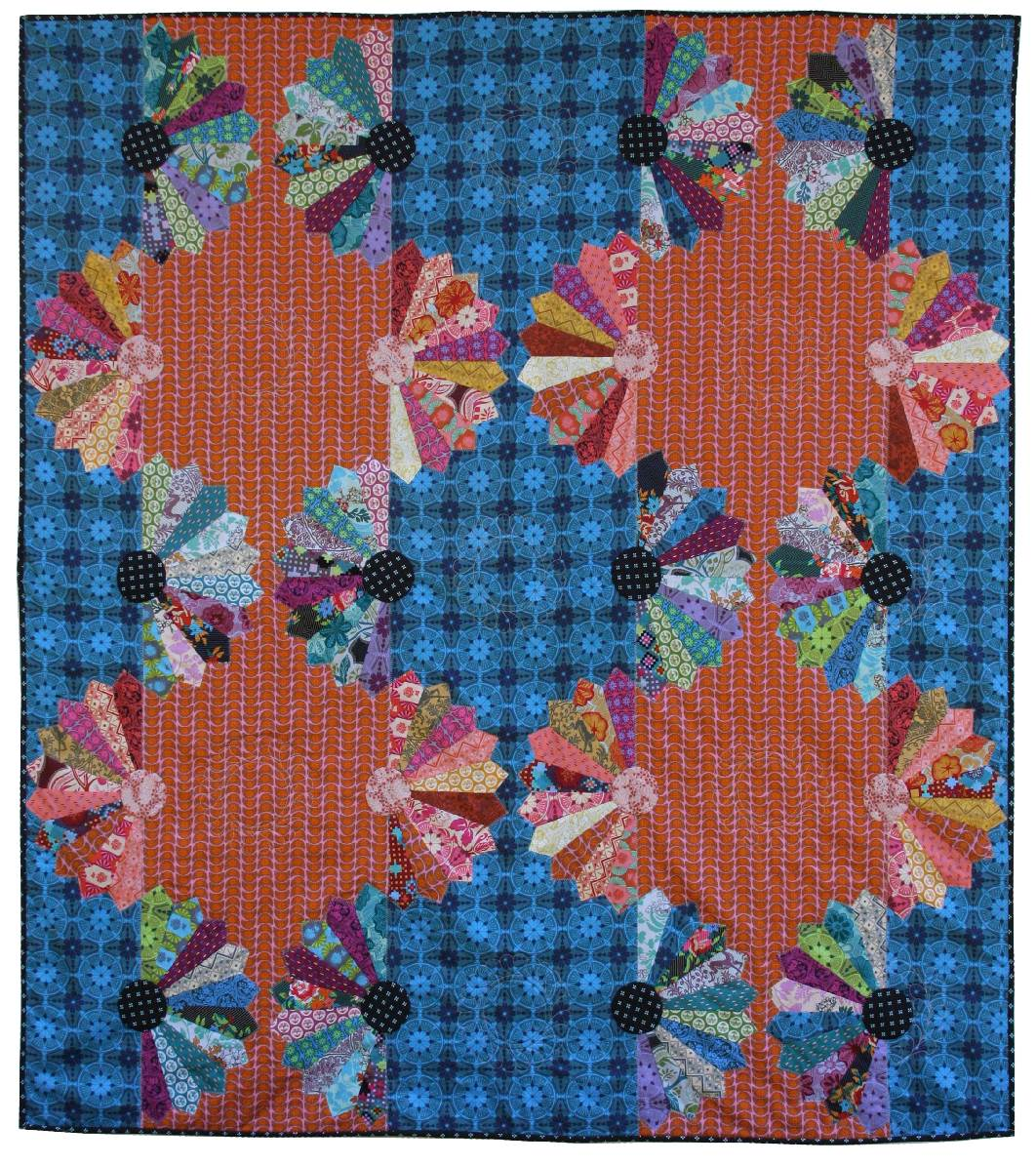Janome Free Quilting Patterns : Quilt Inspiration: Free pattern day ! Dresden Plates