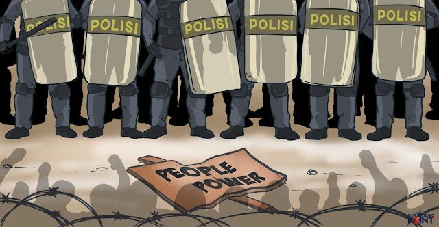People Power, Barang Halal yang Diharamkan