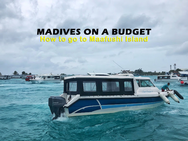 How to go to Maafushi Island from Male Airport?