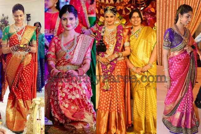 10 Rich Beanras Sarees Collection