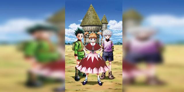 Rekomendasi Anime Game, Tentang Masuk Dunia Game Hunter x Hunter Greed Island terbaik