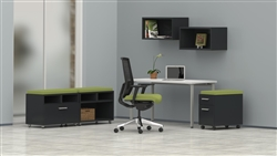 Open Concept Computer Furniture