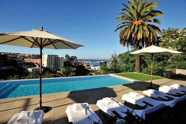 Hotel de luxo Casa Higueras em Valparaíso