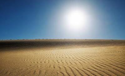 La sorra del desert com a sistema d'emmagatzematge d'energia