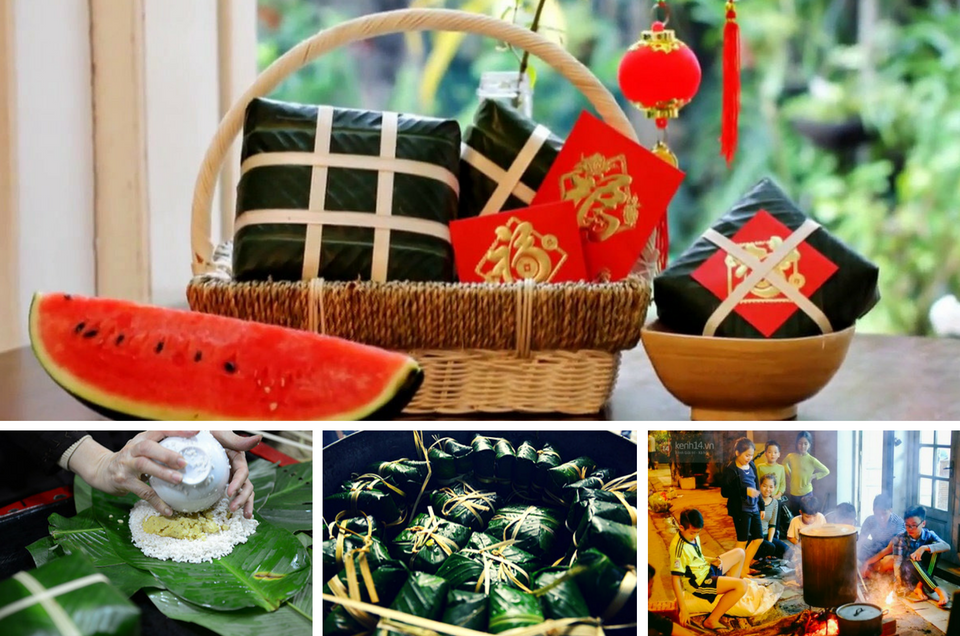 Vietnamese foods during the Lunar New Year