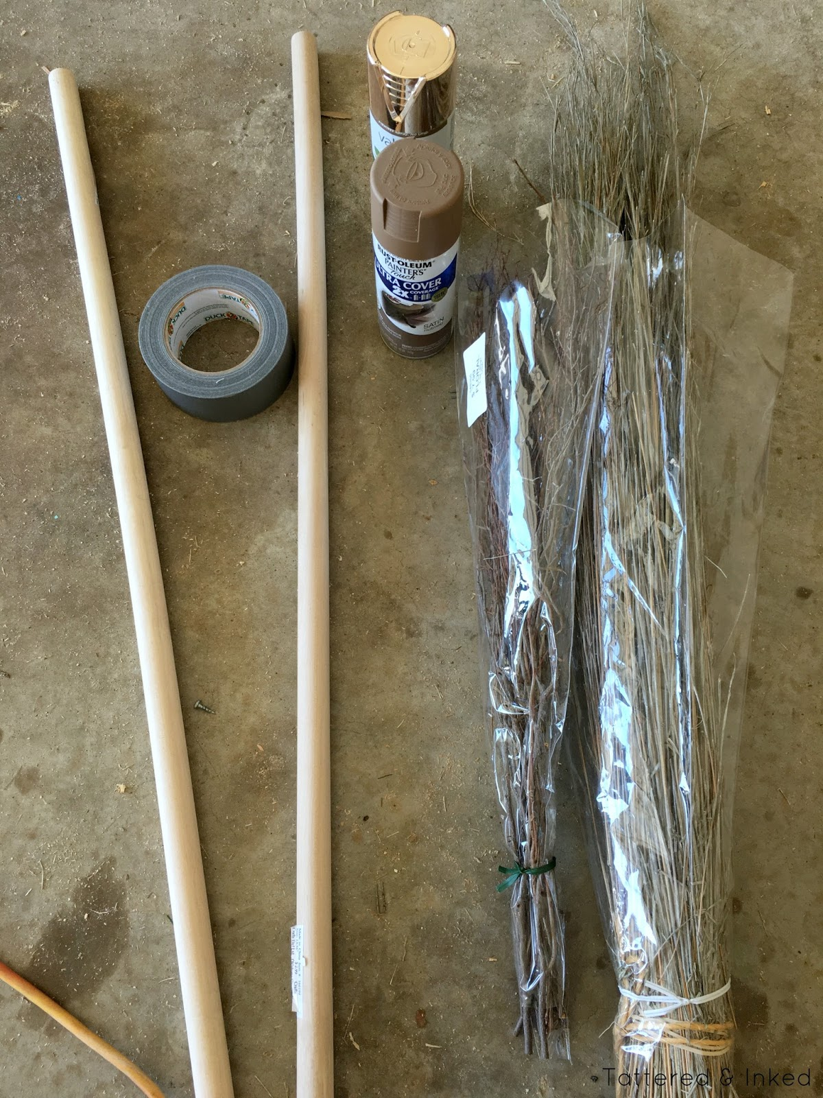 Tattered And Inked Diy Wizard Brooms