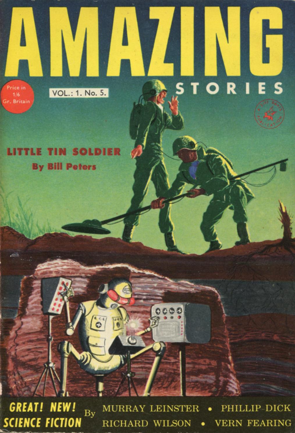 Amazing Stories Volume 21 Number 06: Ski-Ffy: AMAZING STORIES VOL. 1 NO. 5 1954