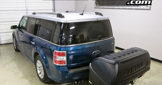 ford flex with thule 665c transporter