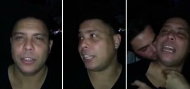 Ronaldo el fenómeno del futbol presento a su Novio
