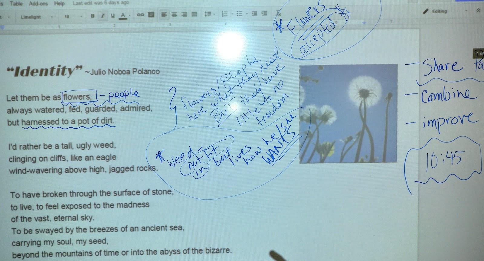 Essay present tense past tense
