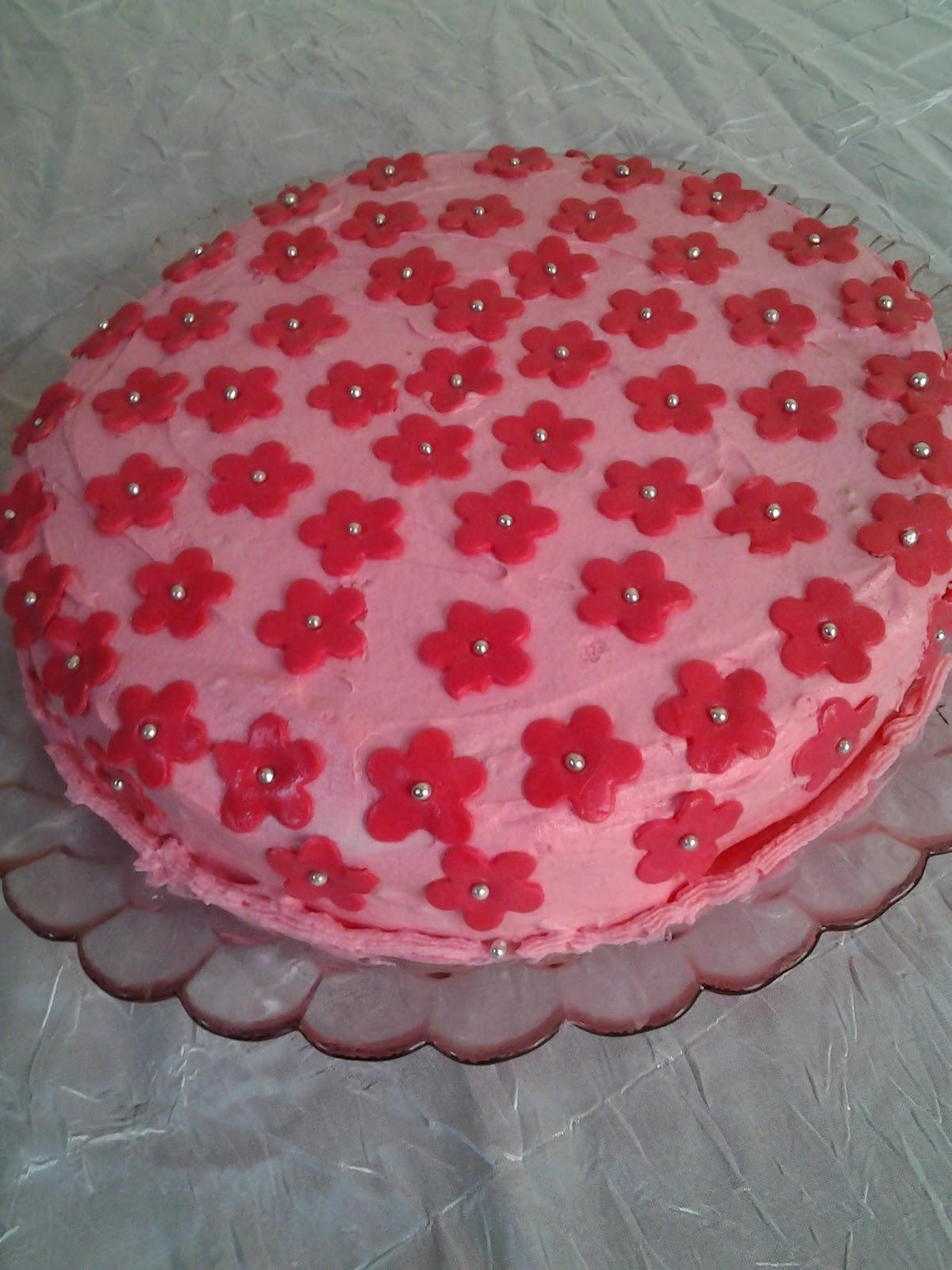 çiçekli pasta tarifi