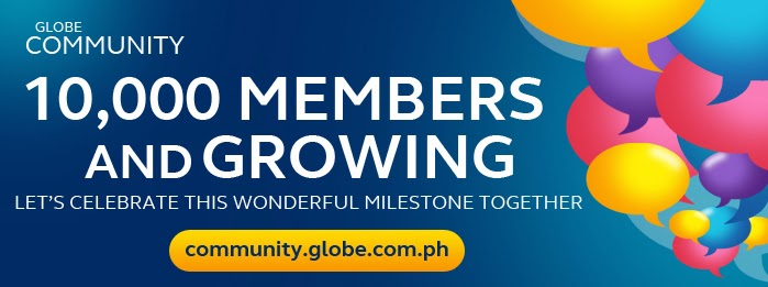 Globe Community 10,000-mark milestone