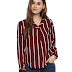 Harpa Women's Striped Top - 455 RS