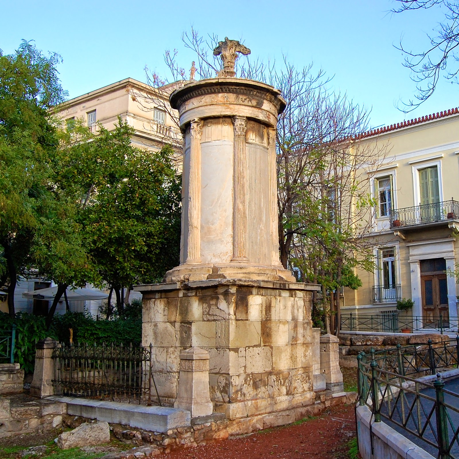 Lysicrates Monument in Athens