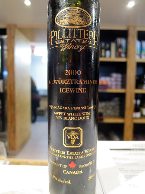 Pillitteri Gewurztraminer Icewine 2000 (90 pts)