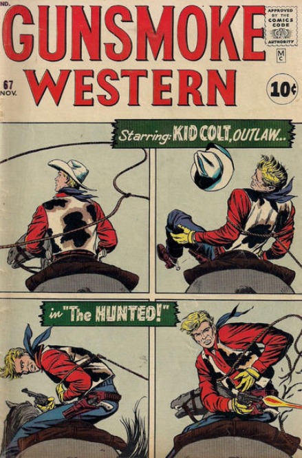 Gunsmoke Western Marvel Comics