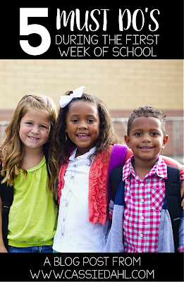 Are you working on your lesson plans for the first week of school? Check out this blog post with ideas and resources to make going back to school just a little bit easier.