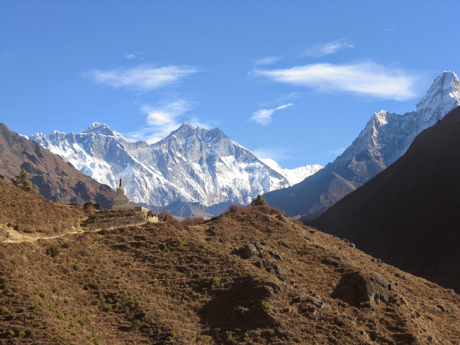 mount Everest view trek nepal