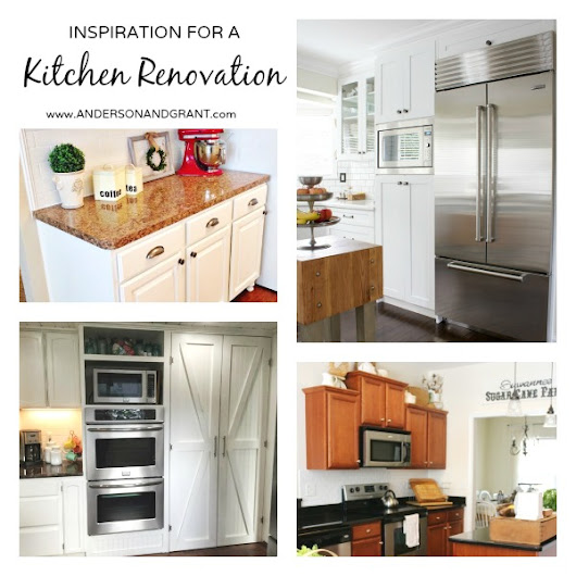 Inspiration for Renovating Your Kitchen {Your Turn to Shine Link Party #22}