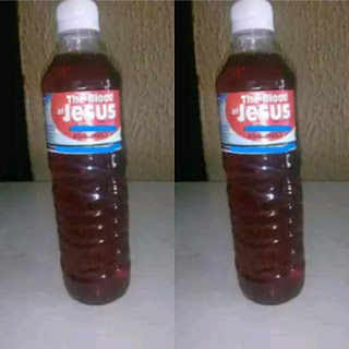 'Blood of Jesus' Drink Manufactured in Akwa Ibom Costs N2,000 only | Weird news in Nigeria.