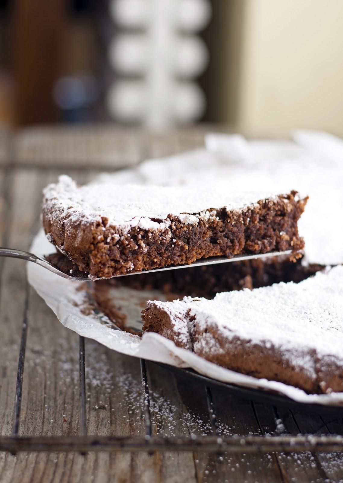 Chocolate Caprese Cake (Gluten-free)