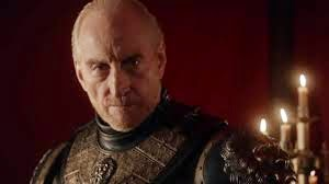 Tywin Lannister, older, white, stern-faced balding man