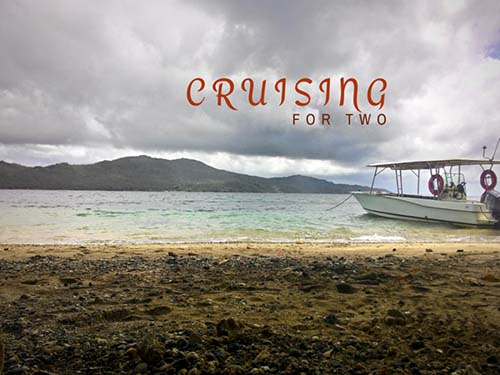 Cruising in Misibis Bay, Albay, Philippines