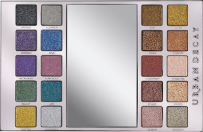 Urband Decay Heavy Metals Palette