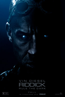 Riddick Movie 2013 with Vin Diesel Poster