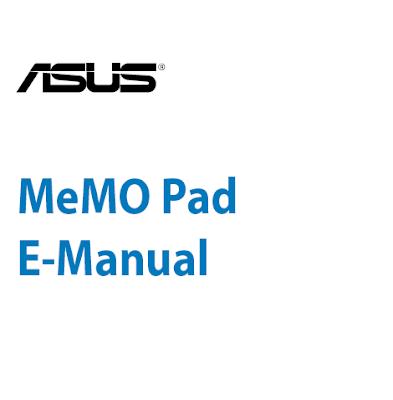 ASUS MeMO Pad HD 7 Manual