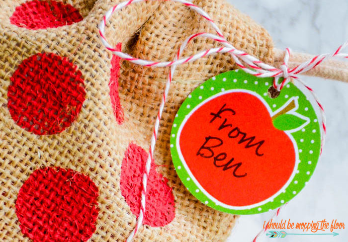 Apple Gift Tags