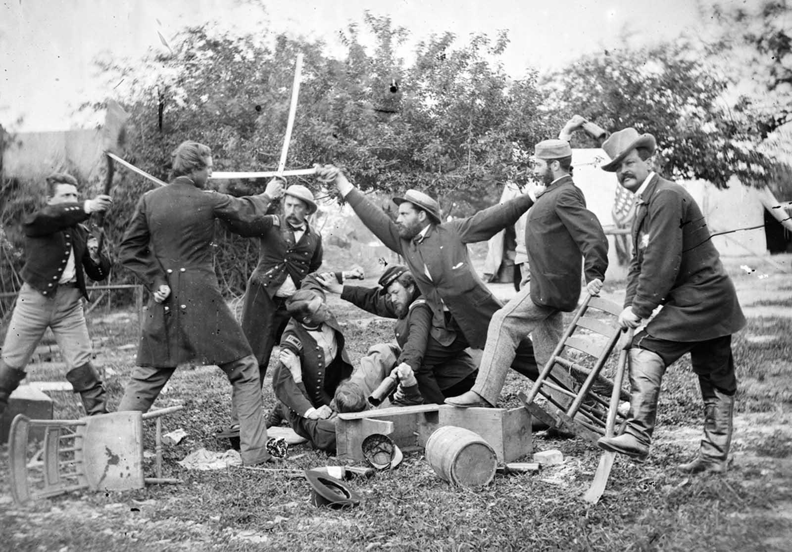 La guerra civil americana en imágenes (parte 3), 1861-1865