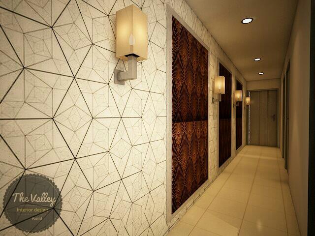 Desain Interior Lorong Rumah Mewah