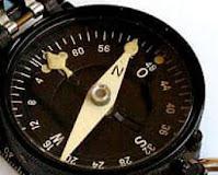 Стрелка на компасе