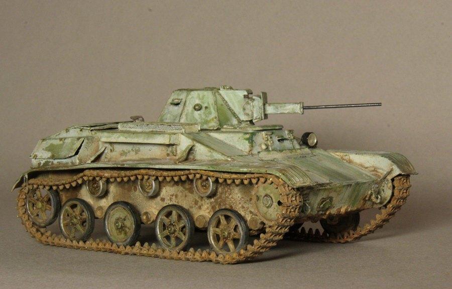 JUY's Modelling Blog: Soviet T-60 Light tank