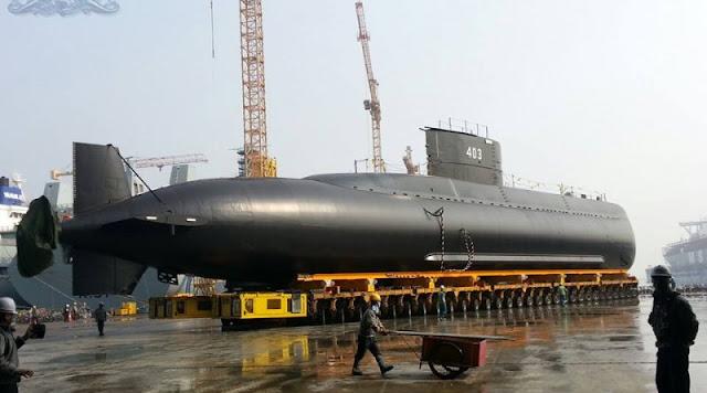 Kapal Selam KRI 403 Nagabanda Pesanan TNI AL Siap Diluncurkan