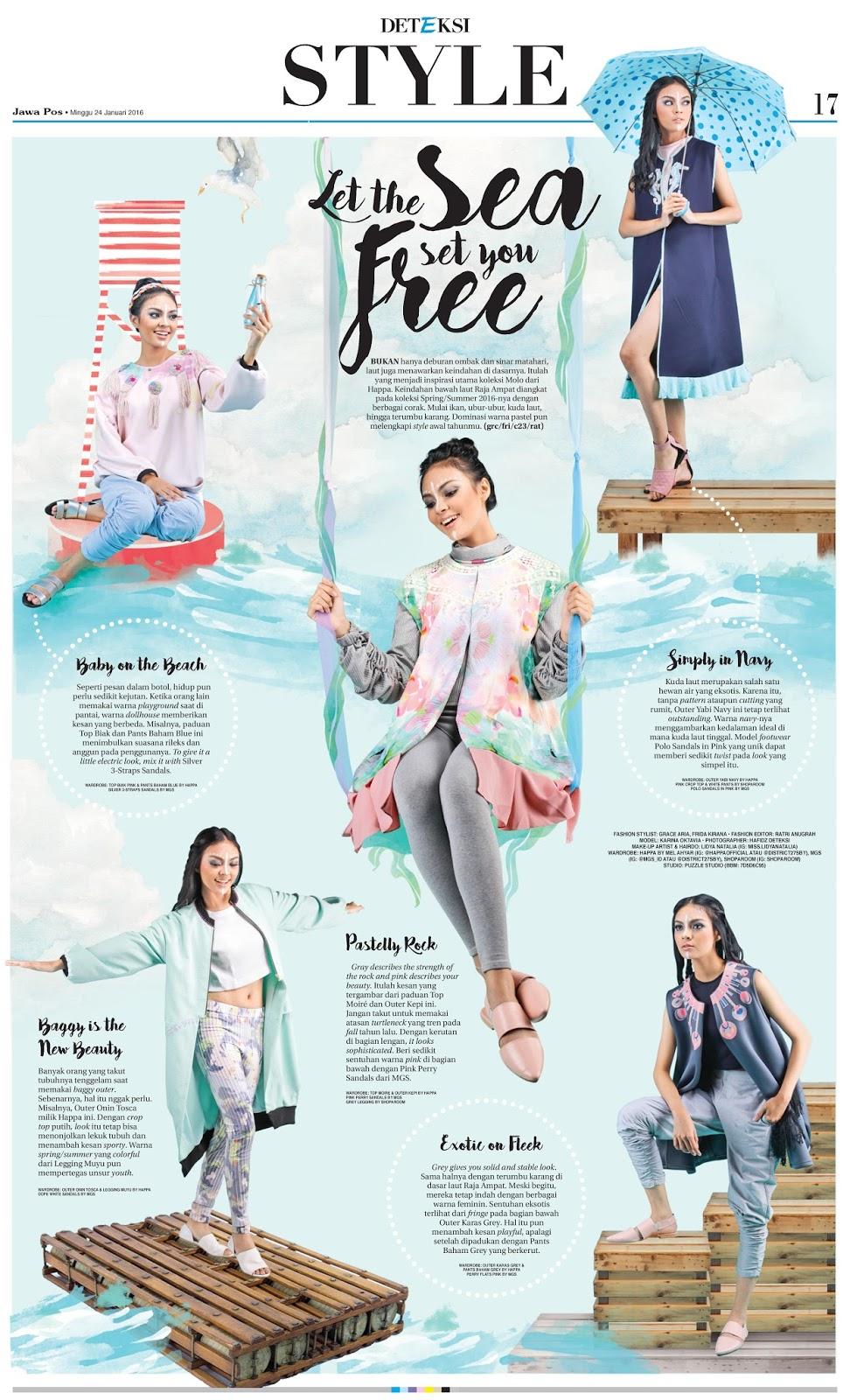Fashion Stylist Happa by Mel Ahyar