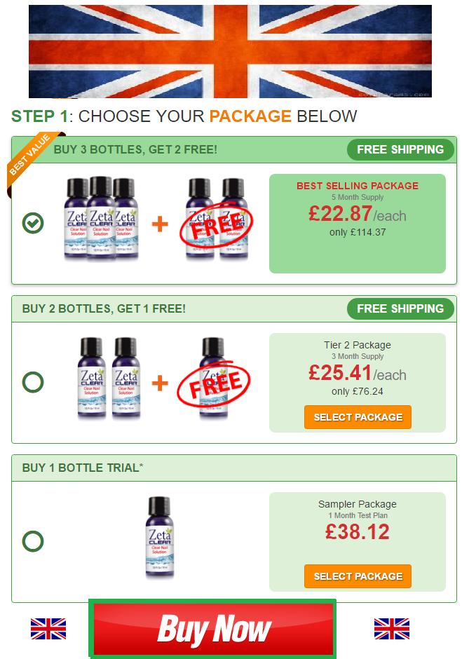 Zetaclear Prices Discounts in UK