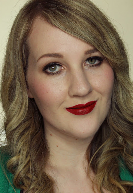 MUA Luxe Velvet Lip Lacquer - Reckless Swatches & Review