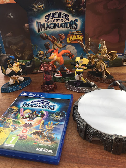 Unboxing #SkylandersImaginators