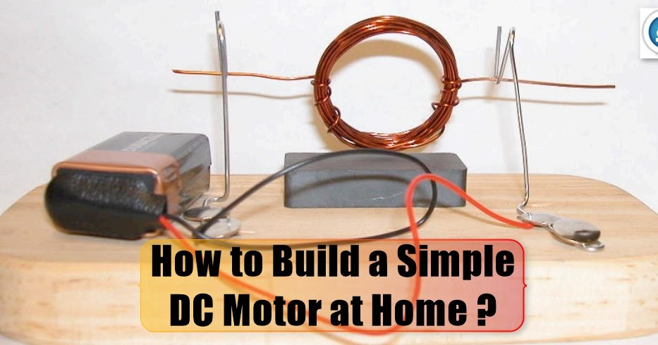 How to build a dc motor at home studyelectrical for Build a home online