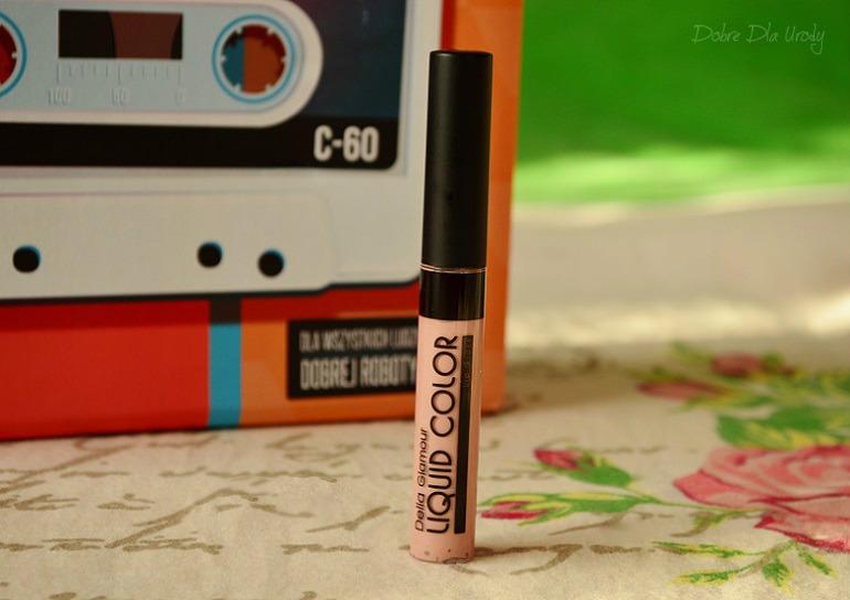 ShinyBox Dobra Partia - DELIA Błyszczyk do ust Glamour Liquid Color