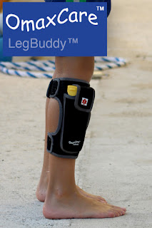 five year old carries epipen case with legbuddy