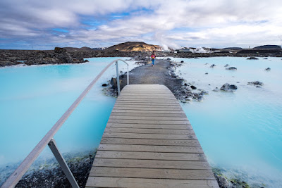 Iceland's Blue Lagoon spa makes a great stop on your 5-day winter itinerary