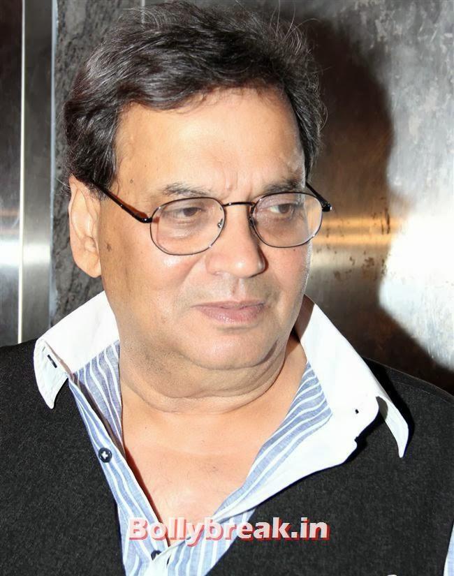 Subhash Ghai, Gulaab Gang Movie Premiere Pics