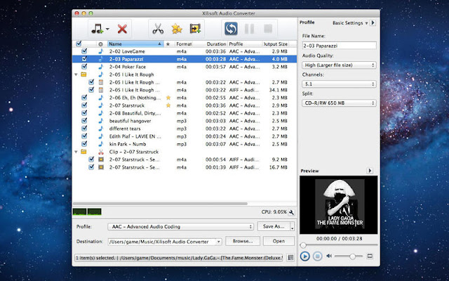 Xilisoft Audio Converter Pro Mac Serial