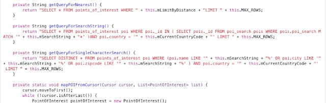 Uso de consultas concatenadas vulnerables potencialmente a SQL Injection imagen