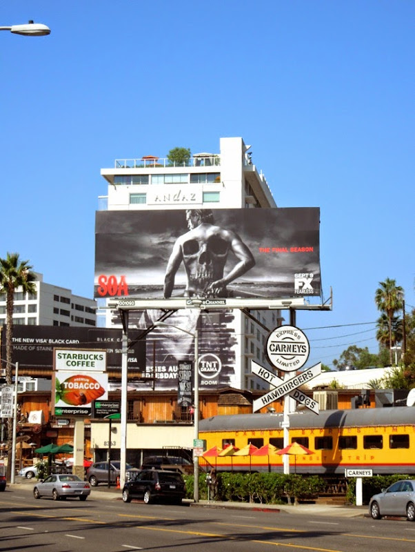 Sons of Anarchy final season 7 billboard